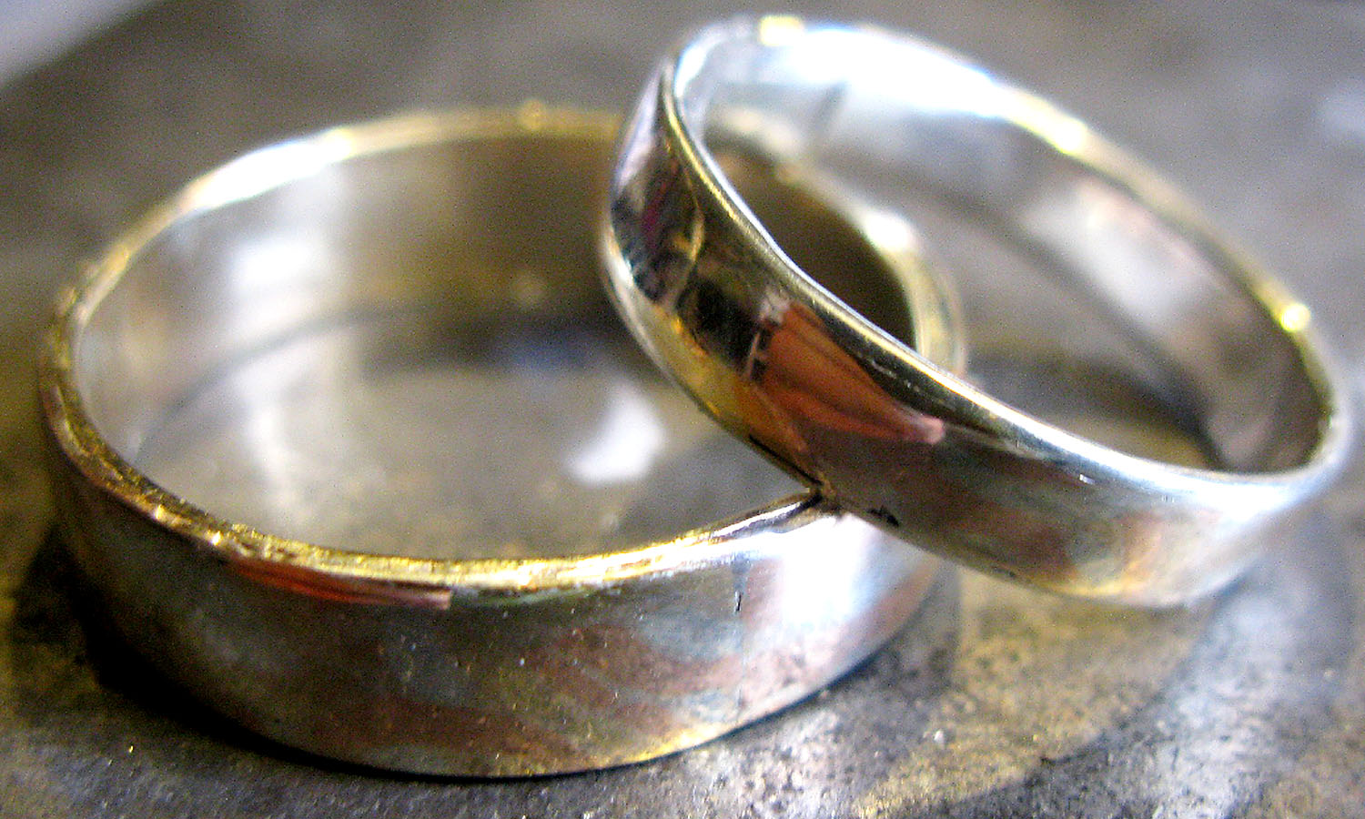 old wedding rings images