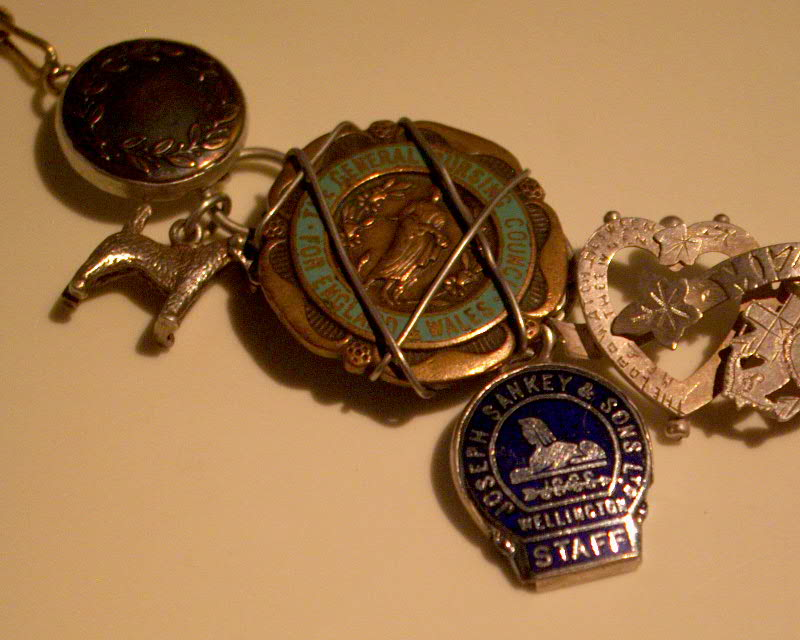 Buttons and nursing badges