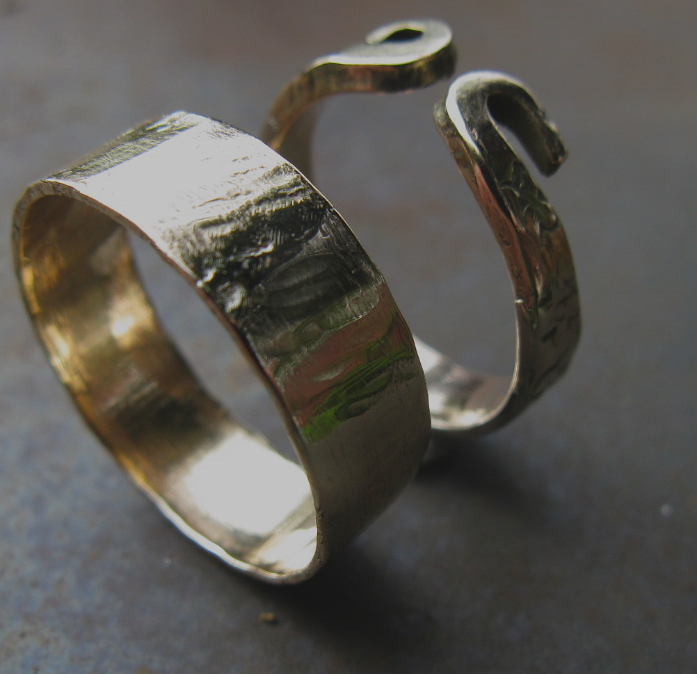 forged make two at hand oldfield rings in wedding forgeoldfield