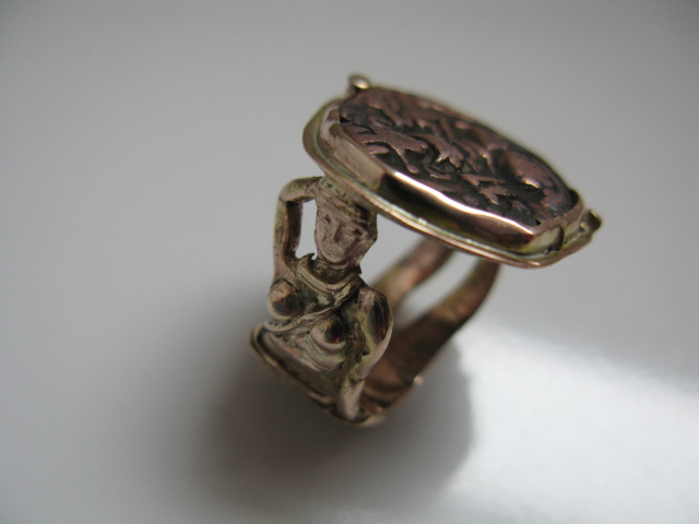 Rupee coin ring