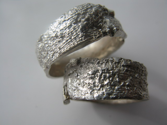 White Shibu rings